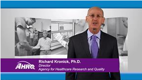Image of Dr. Rick Kronick, AHRQ Director, from his AHRQ Leadership video.