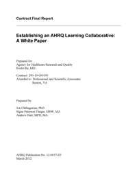 white paper cover page