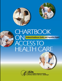 Cover of Chartbook on Access to Health Care
