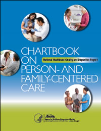 Cover of Chartbook on Person- and Family-Centered Care