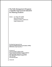 Cover of the Falls Management Program Manual