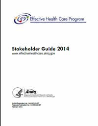 Cover of the Effective Health Care Program Stakeholder Guide