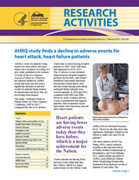 Cover of February 2014 Research Activities