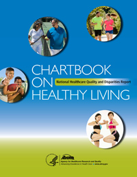 Healthy Living Chartbook cover