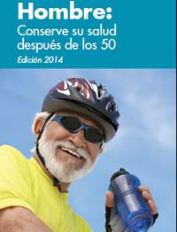 Cover of Hombre: Conserve su salud después de los 50 brochure