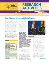 Cover of January 2014 Research Activities