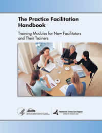 Practice Facilitation Handbook cover page image