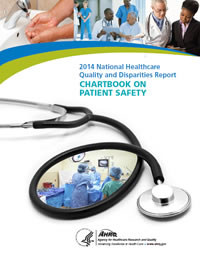 Cover of QDR Chartbook on Patient Safety
