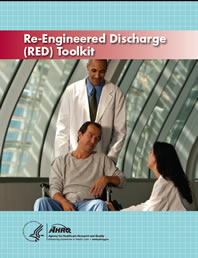 The cover of the Re-Engineered Discharge (RED) Toolkit