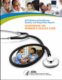 Cover of the Chartbook on Women's Health Care