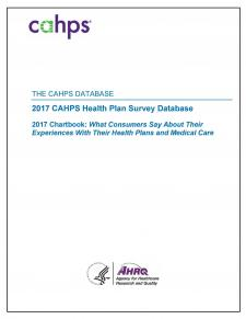 2017 CAHPS Health Plan Survey Chartbook