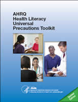 Health Literacy Universal Precautions Toolkit, 2nd Edition