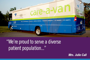 We're proud to serve a diverse patient population.
