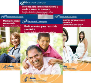 Four new Spanish-language consumer summaries now available.