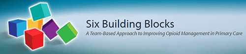 Banner: Six Building Blocks - A Team-Based Approach to Improving Opioid Management in Primary Care