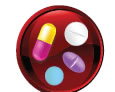 Icon shows a circular pill-box containing 4 different types of pills.