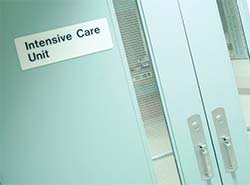 Image of Intensive Care Unit doors