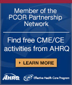 Free CME/CE from AHRQ