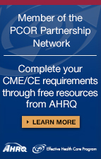 Free CME/CE for health professionals from AHRQ
