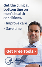 Get the clinical bottom line on men's health conditions.