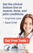 Get the clinical bottom line on muscle, bone, and joint conditions.