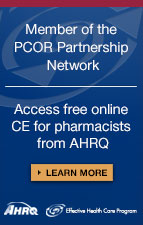 Free CE for pharmacists from AHRQ