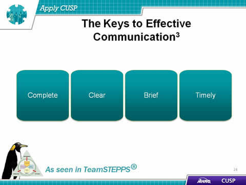 the importance of effective team communication