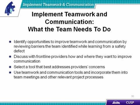 effective communication among health care team Izatty lim 0308188 17 jan 2014 page 1 effective communication among healthcare workers to improve patient safety and quality of care name : izatty lim student.