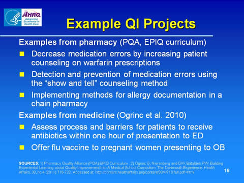 Advancing Health Literacy Practices in Pharmacy through Quality ...