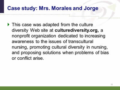 Videos and Case Studies - Cultural Competence/Humility ...