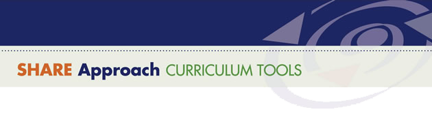 SHARE Approach: Curriculum Tools