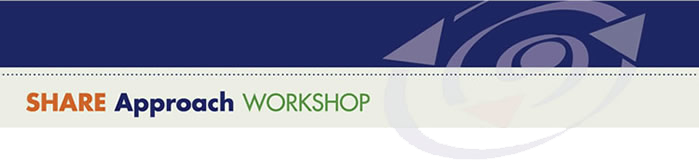 SHARE Approach: Workshop