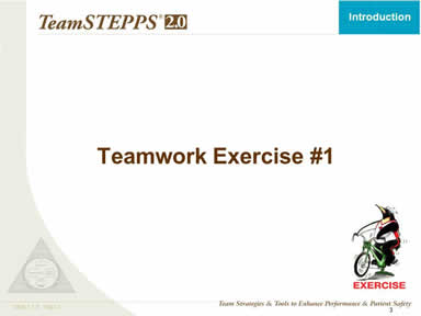 Teamwork Exercise #1