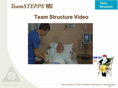 Team Structure Video