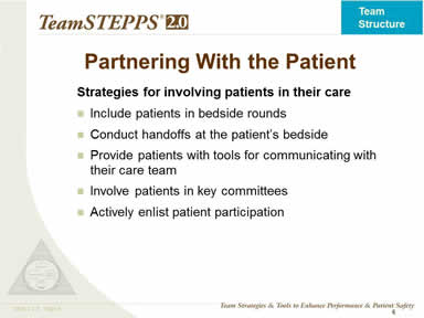 Partnering With the Patient
