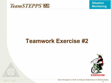 Teamwork Exercise #2
