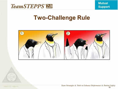 The Two-Challenge Rule