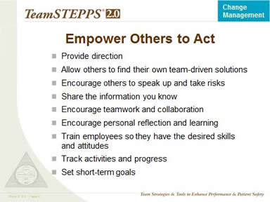 Empower Others to Act