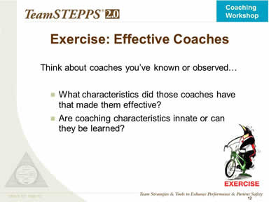 Exercise: Effective Coaches
