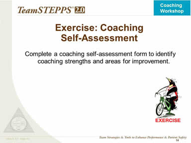 Exercise: Coaching Self-Assessment