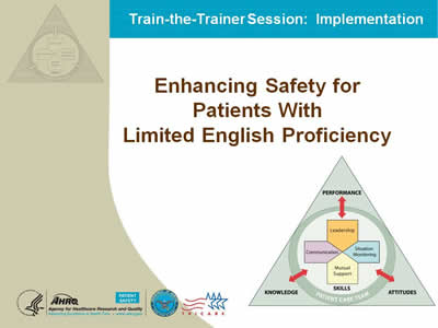 Text: Enhancing Safety for Patients With Limited English Proficiency.