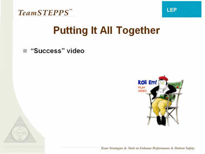 Text: 'Success' video.