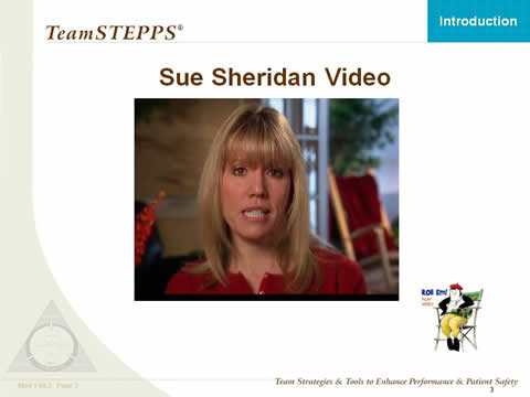 Sue Sheridan Video