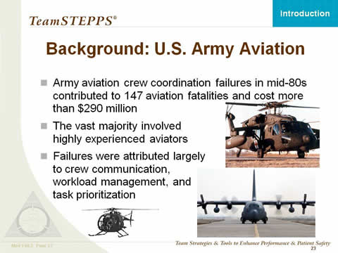 Text Description is below the image. Images: Photographs of military helicopters and an airplane are shown.