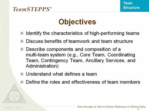 Objectives... the remaining slide text is below this image.