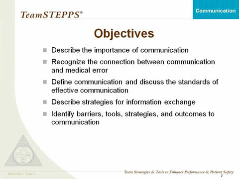 identify barriers to effective communication