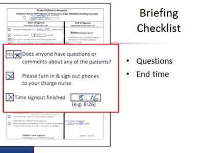Adapting TeamSTEPPS Tools for New Uses: Slide Presentation ...