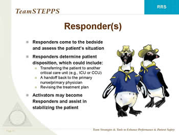 Teamstepps Rapid Response Systems Module Agency For