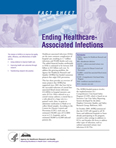 First page of 'Ending Healthcare-Associated Infections' fact sheet