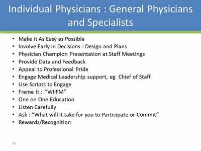 Engaging The Nurse, Physician, Patient/Family, Cusp- Learn From